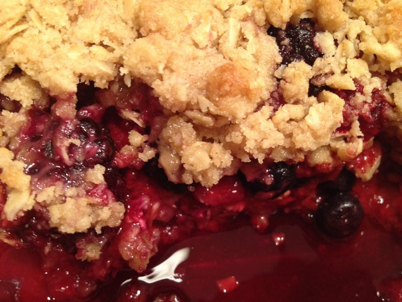 Mixed Berry Cobbler With Cake Mix