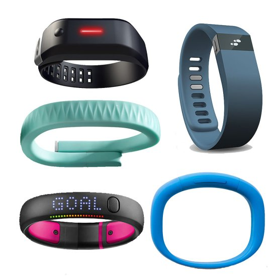 Comparison-Nike-FuelBand-FitBit-Jawbone-Up-More