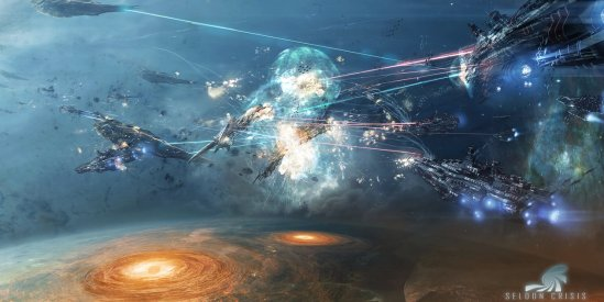 seldon_crisis__battle_by_adamburn-d7h58ki